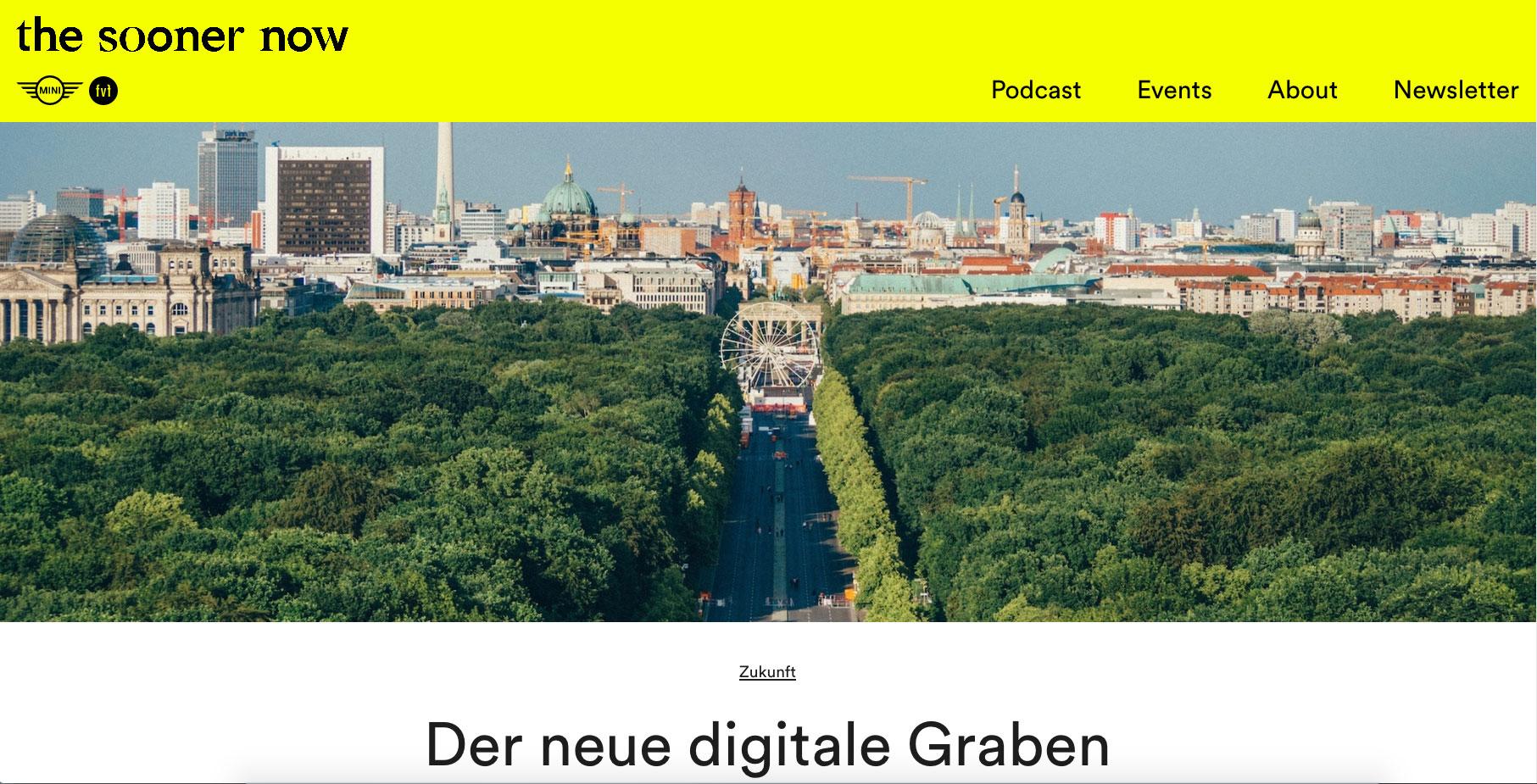 Der neue digitale Graben